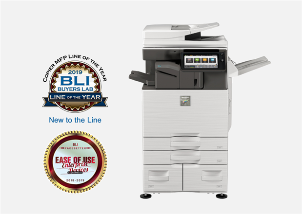 30 page-per-minute colour copier/printer/ scanner - Sharp