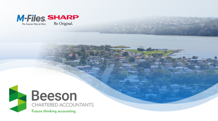 Beeson Chartered Accountants digitalises manual processes and  facilitates working from home with M-Files