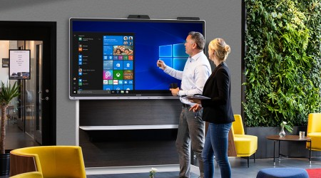 Titan Furniture restores interactivity with their factories using the Windows Collaboration Display