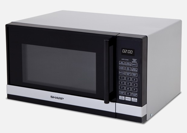 Compact Microwave - Silver - 800W