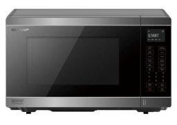 Midsized Microwave - Silver - 1200W