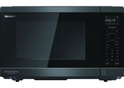 Midsized Microwave - Black Stainless - 1200W