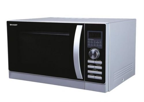 Convection Microwave - Silver - 900W