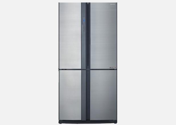 French Door Fridge - Silver - 624L