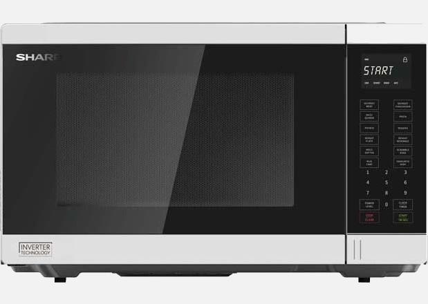 Midsized Microwave - White - 1200W
