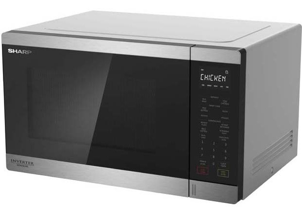 Midsized Microwave - Stainless - 1200W
